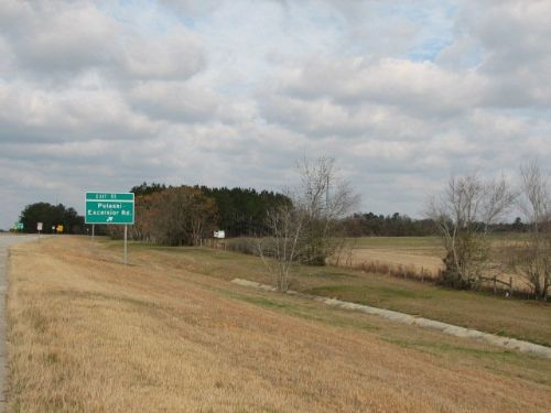 I-16 Commercial/industrial Acreage : Metter : Camden County : Georgia