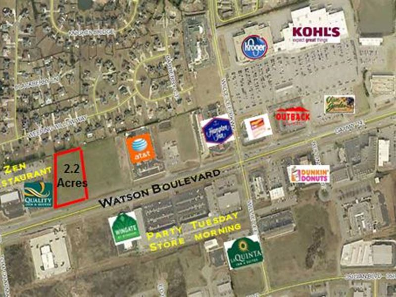 2.2 Ac. Parcel On Watson Blvd : Warner Robins : Houston County : Georgia