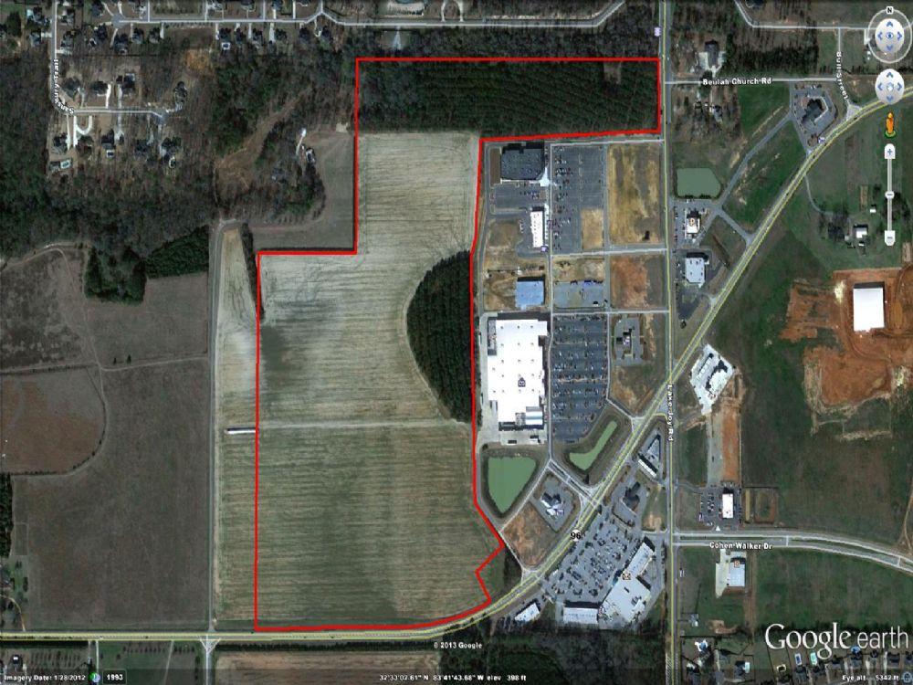 Commercial Property On Highway 96 : Kathleen : Houston County : Georgia