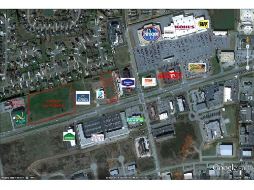 Great Commercial Parcel : Warner Robins : Houston County : Georgia