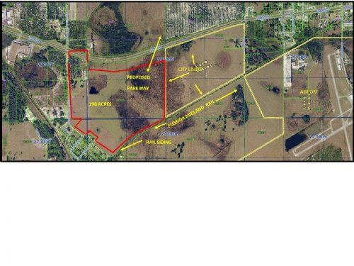 Potential Industrial/Com Site : Lake Wales : Polk County : Florida