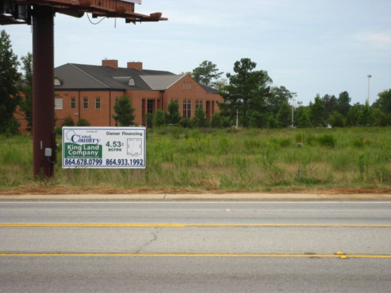 4.5 Ac Adjacent To Tri-county Tech : Anderson : Anderson County : South Carolina