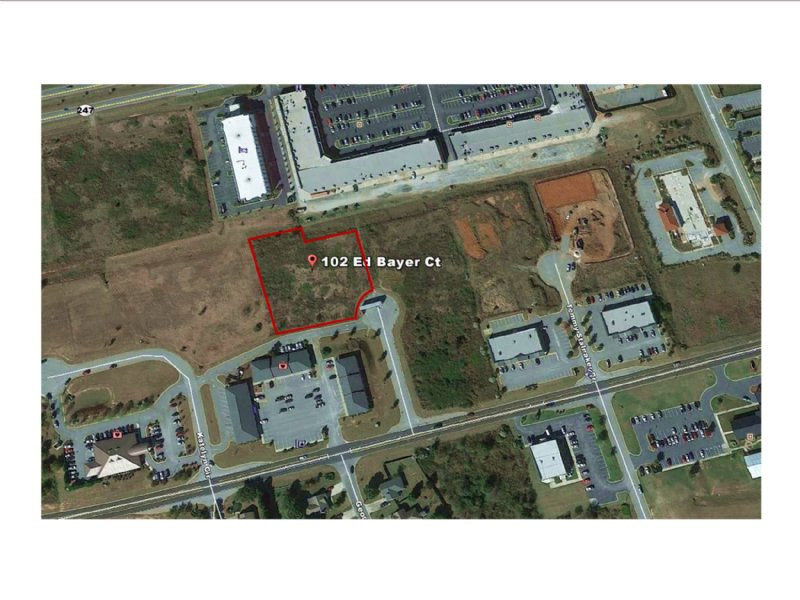 Commercial Lot On Ed Bayer Ct : Warner Robins : Houston County : Georgia