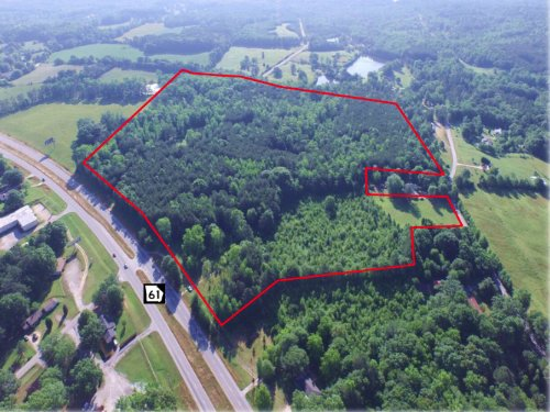 58.57 Acres Hwy 61 : Villa Rica : Carroll County : Georgia
