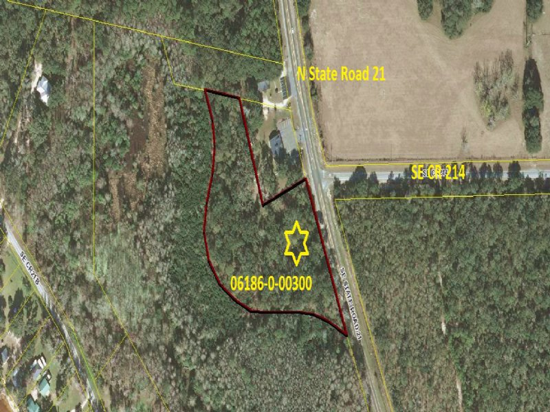 C-124, 4.85 Acres Commercial Land : Melrose : Bradford County : Florida